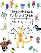 Cover-Bild zu Fingerabdruck, Punkt und Strich - Monster und Helden von Edition Michael Fischer