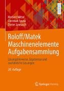 Cover-Bild zu Roloff/Matek Maschinenelemente Aufgabensammlung