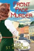 Cover-Bild zu Front Page Murder (eBook)