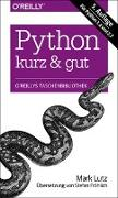 Cover-Bild zu Python - kurz & gut von Lutz, Mark