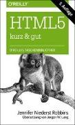 Cover-Bild zu HTML5 - kurz & gut von Niederst Robbins, Jennifer