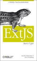 Cover-Bild zu ExtJS von Homberg, Aron