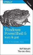 Cover-Bild zu Windows PowerShell 5 - kurz & gut von Masuch, Rolf