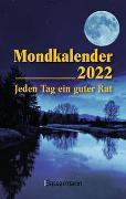 Cover-Bild zu Mondkalender 2022 - Der Taschenkalender