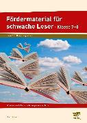 Cover-Bild zu Fördermaterial für schwache Leser - Klasse 7-8 von Angioni, Milena