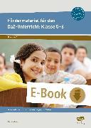 Cover-Bild zu Fördermaterial für den DaZ-Unterricht: Klasse 5-6 (eBook) von Angioni, Milena