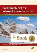 Cover-Bild zu Fördermaterial für schwache Leser - Klasse 7-8 (eBook) von Angioni, Milena
