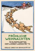 Cover-Bild zu Fröhliche Weihnachten von Wiener Werkstätte (Illustr.)