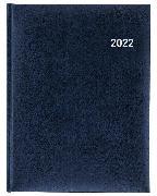 Cover-Bild zu Biella Geschäftsagenda Orario, blau 2022