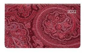 Cover-Bild zu Ladytimer Pad Arabian Pattern 2022 - Taschen-Kalender 15,6x9 cm - Muster - Weekly - 128 Seiten - Notiz-Buch - Alpha Edition
