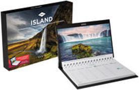 Cover-Bild zu Island Tischkalender 2022