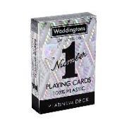 Cover-Bild zu Spielkarten - Platin Deck