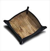"""Cover-Bild zu Würfelteller """"Wood Texture"""""""