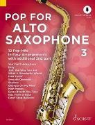 Cover-Bild zu Bye, Uwe (Instr.): Pop For Alto Saxophone 3