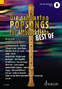 Cover-Bild zu Bye, Uwe (Instr.): Die schönsten Popsongs für Alt-Blockflöte BEST OF