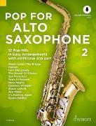 Cover-Bild zu Bye, Uwe (Instr.): Pop For Alto Saxophone 2