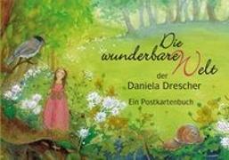"""Cover-Bild zu Postkartenbuch """"Die wunderbare Welt der Daniela Drescher"""""""