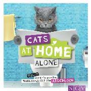 Cover-Bild zu Cats at home alone - Das Geschenkbuch für Katzenliebhaber