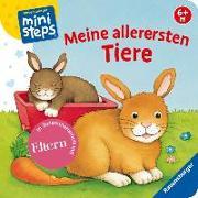 Cover-Bild zu Meine allerersten Tiere von Neubacher-Fesser, Monika (Illustr.)
