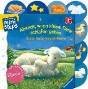 Cover-Bild zu Abends, wenn kleine Tiere schlafen gehen von Cuno, Sabine