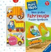 Cover-Bild zu Mein großes Fahrzeuge Puzzle-Spielbuch von Cuno, Sabine