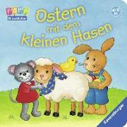 Cover-Bild zu Ostern mit dem kleinen Hasen von Cuno, Sabine