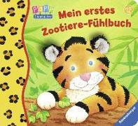 Cover-Bild zu Mein erstes Zootiere-Fühlbuch von Cuno, Sabine