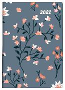 Cover-Bild zu Biella Taschenagenda Memento Trend, Flower 2022