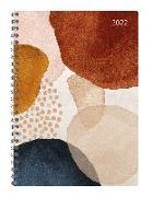 Cover-Bild zu Ladytimer Ringbuch Watercolor 2022 - Taschen-Kalender A5 (15x21 cm) - Schüler-Kalender - Weekly - Ringbindung - 128 Seiten - Alpha Edition
