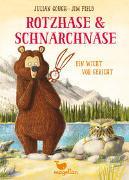 Cover-Bild zu Gough, Julian: Rotzhase & Schnarchnase - Ein Wicht vor Gericht - Band 3