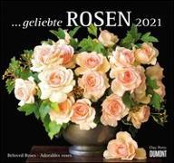 Cover-Bild zu geliebte Rosen 2021 - DUMONT Wandkalender - mit allen wichtigen Feiertagen - Format 38,0 x 35,5 cm von Perry, Clay (Fotograf)