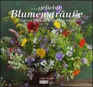 Cover-Bild zu geliebte Blumensträuße 2021 - DUMONT Wandkalender - mit allen wichtigen Feiertagen - Format 38,0 x 35,5 cm von Rosenfeld, Christel (Fotograf)