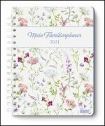 Cover-Bild zu Mein Familienplaner-Buch Lovely Flowers 2021 - Buch-Kalender - Praktisch, zum Mitnehmen - mit 5 Spalten und vielen Zusatzseiten von DUMONT Kalenderverlag (Hrsg.)