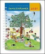 Cover-Bild zu Mein Familienplaner-Buch Wimmlingen 2021 - Mit Illustrationen von Rotraut Susanne Berner - Buch-Kalender - Praktisch, zum Mitnehmen - mit 5 Spalten und vielen Zusatzseiten von DUMONT Kalenderverlag (Hrsg.)