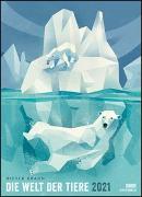 Cover-Bild zu Dieter Braun: Die Welt der Tiere 2021 - Wandkalender - Poster-Format 49,5 x 68,5 cm von DUMONT Kalenderverlag (Hrsg.)