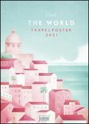 Cover-Bild zu Travelposter 2021 - Reiseplakate-Kalender von DUMONT- Wand-Kalender - Poster-Format 49,5 x 68,5 cm von DUMONT Kalenderverlag (Hrsg.)