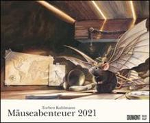 Cover-Bild zu Torben Kuhlmann Mäuseabenteuer 2021 - DUMONT Kinder-Kalender - Querformat 52 x 42,5 cm - Spiralbindung von DUMONT Kalenderverlag (Hrsg.)