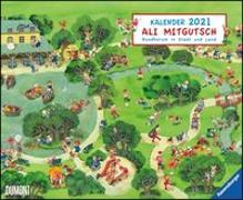 Cover-Bild zu Ali Mitgutsch 2021 - Wimmelbilder - DUMONT Kinder-Kalender - Querformat 52 x 42,5 cm - Spiralbindung von DUMONT Kalenderverlag (Hrsg.)