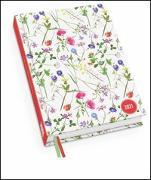 Cover-Bild zu Lovely Flowers Taschenkalender 2021 - Turnowsky-Design - Terminplaner mit Wochenkalendarium - Format 11,3 x 16,3 cm von Turnowsky (Gestaltet)