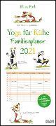Cover-Bild zu Yoga für Kühe Familienplaner 2021 - Wandkalender - Familien-Kalender mit 6 Spalten - Format 22 x 49,5 cm von DUMONT Kalenderverlag (Hrsg.)