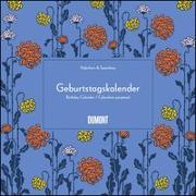 Cover-Bild zu Immerwährender Geburtstagskalender - Lovely Flowers - Haferkorn & Sauerbrey - Quadrat-Format 24 x 24 cm von Haferkorn, Romy (Gestaltet)