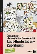 Cover-Bild zu Übungen zur phonologischen Bewusstheit 3 von Wemmer, Katrin