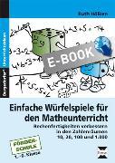 Cover-Bild zu Einfache Würfelspiele für den Mathematikunterricht (eBook) von Hölken, Ruth