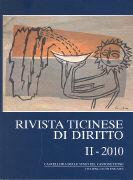 Cover-Bild zu Rivista ticinese di diritto 2/2010