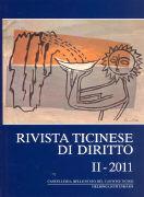 Cover-Bild zu Rivista ticinese di diritto 2/2011