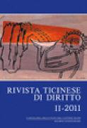 Cover-Bild zu Rivista ticinese di diritto 1/2012