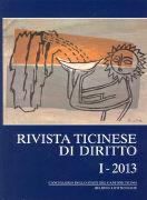 Cover-Bild zu Rivista ticinese di diritto 1/2013
