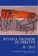 Cover-Bild zu Rivista ticinese di diritto 2/2013