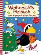 Cover-Bild zu Rudolph, Annet (Illustr.): Der kleine Rabe Socke: Weihnachts-Malbuch vom kleinen Raben Socke