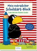 Cover-Bild zu Moost, Nele: Der kleine Rabe Socke: Mein extradicker Schulstart-Block